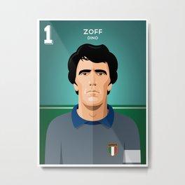 Zoff 1982 Metal Print
