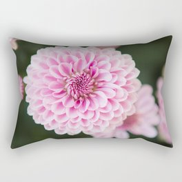 Mums in Pink Rectangular Pillow