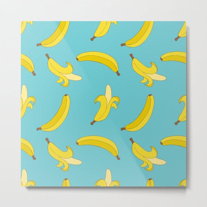 A lot of Bananas Metal Print