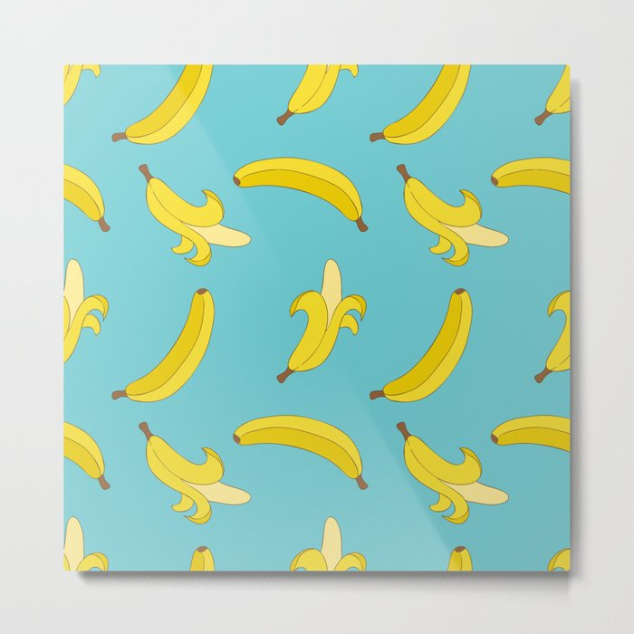 A lot of Bananas Metal Print