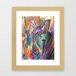 Thorn in Heart Framed Art Print