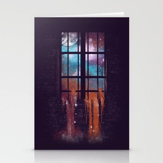 Let the Stars Flow Into You V.2 Stationery Cards