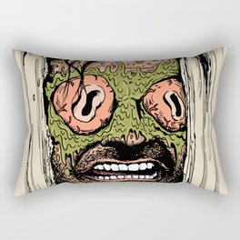 Shining Eye Holes Rectangular Pillow