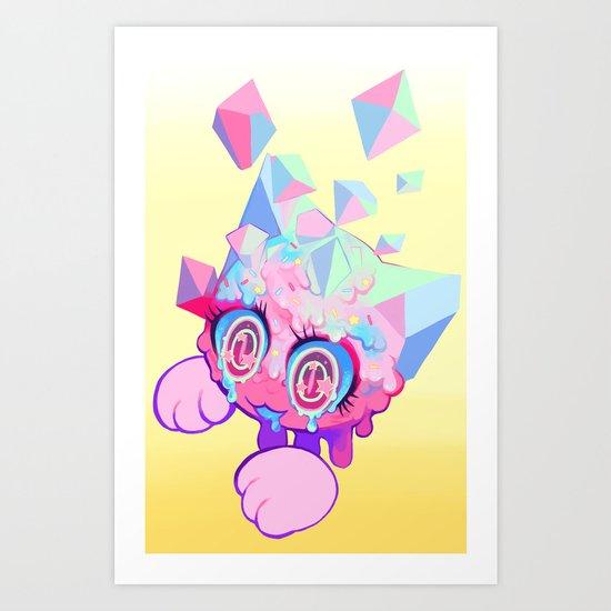 cut Art Print