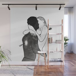 The love arrow. Wall Mural
