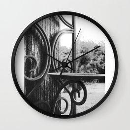 Unlit Wall Clock