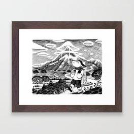 Happy Ozo Framed Art Print