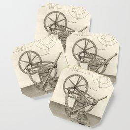 Jérôme Lalande's Astronomie (1771) - Telescope Apparatus 13 Coaster