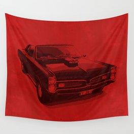 PONTIAC GTO Wall Tapestry