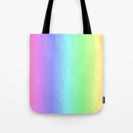 Vertical Pastels Tote Bag