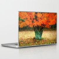 van gogh Laptop & iPad Skins featuring Van Gogh Autumn by ThePhotoGuyDarren