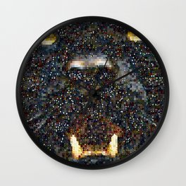 Black Panter Wall Clock