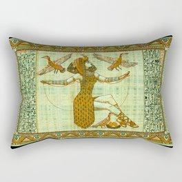 Cleopatra 5 Rectangular Pillow