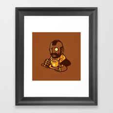 Gentleman T Framed Art Print