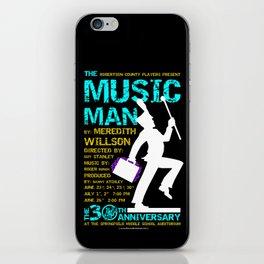 The Music Man iPhone Skin