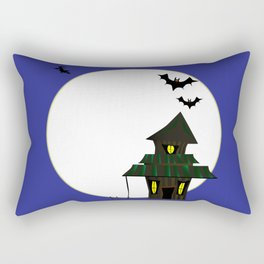 Halloween Cottoge Rectangular Pillow