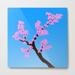 A sign of Spring Metal Print
