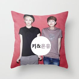 Key and Onew  Throw Pillow