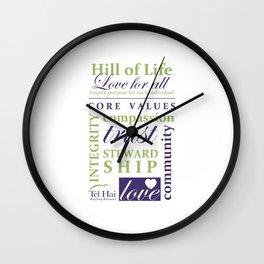 Hill of Life Wall Clock