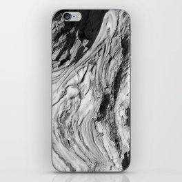 Monolithic Erosion Swirl iPhone Skin