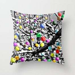 Berry Dreams Photography Throw Pillow