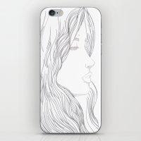 art nouveau iPhone & iPod Skins featuring Art Nouveau by YriArt