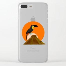 Maya dream Clear iPhone Case