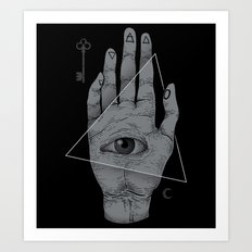 Witch Hand Art Print
