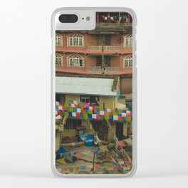 Kathmandu City Roof Tops - Architecture 05 Clear iPhone Case
