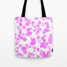 Festive Pink Confetti Tote Bag