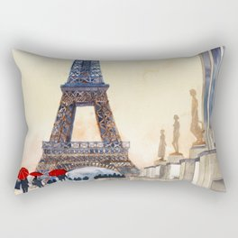 Morning in Paris Rectangular Pillow