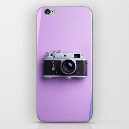 Multiple vintage cameras iPhone Skin