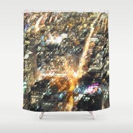 New York. Bright Lights, Big City. Shower Curtain