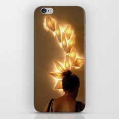 Hair ornament iPhone & iPod Skin
