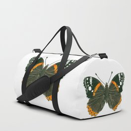 Admiral butterfly ink illustration Duffle Bag