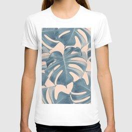 Tropical Monstera Leaves Dream #5 #tropical #decor #art #society6 T-shirt