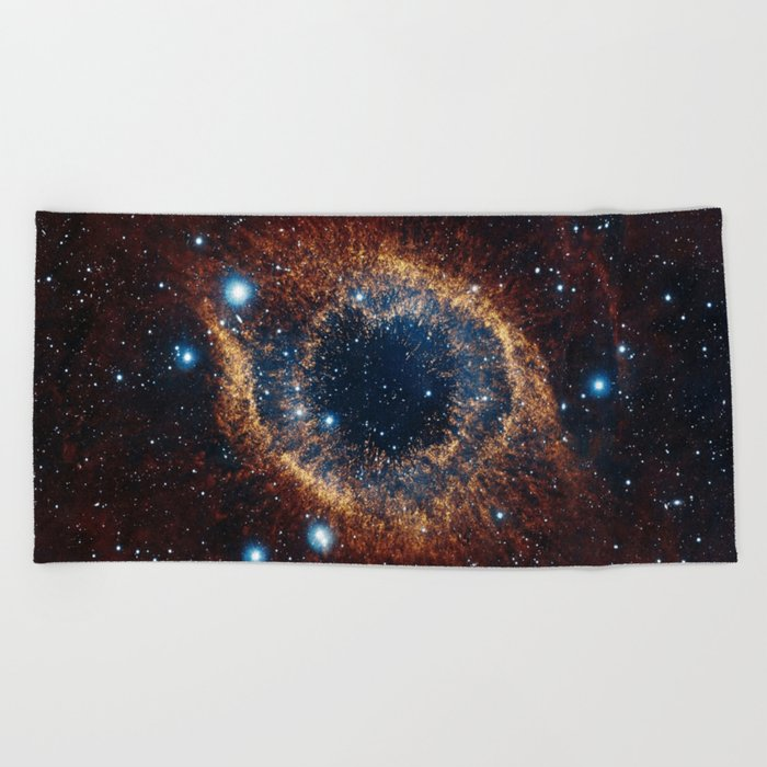 Eye of the Universe Beach Towel
