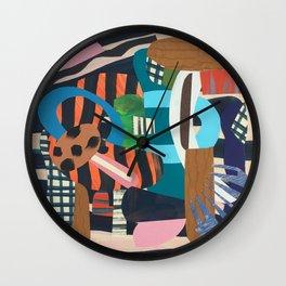 Zebra Skin Wall Clock