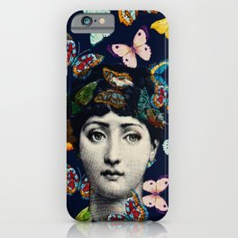 The Butterfly Queen iPhone Case