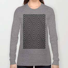 Triangles in Diamonds Long Sleeve T-shirt