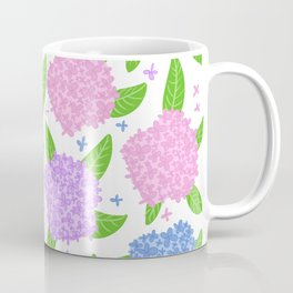Hydrangea Season Coffee Mug