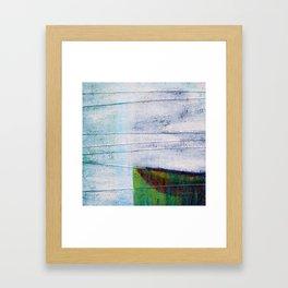 Forest Green Framed Art Print