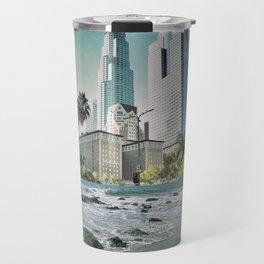 Surf City L.A. Travel Mug