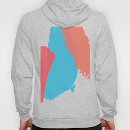 Brush strokes composition #6 Hoody