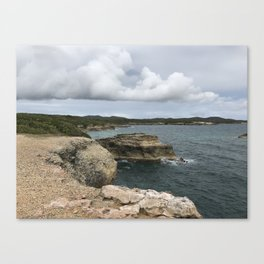 Lighthouse View in Vieques Canvas Print