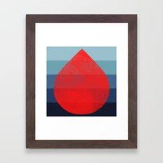 flourish 6 Framed Art Print