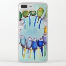 Joycatcher Clear iPhone Case