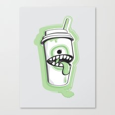 Latte Ghost Canvas Print