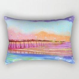 Avalon Blues Rectangular Pillow
