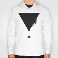 triangle Hoodies featuring Triangle by SUBLIMENATION